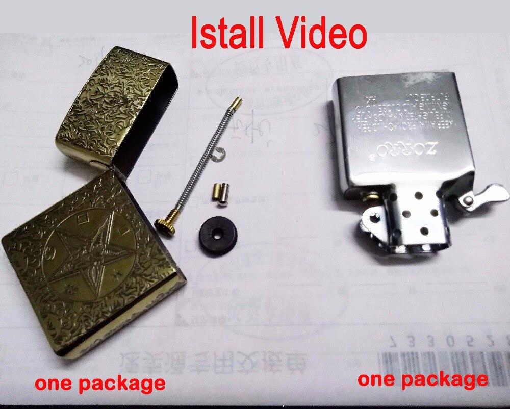DIY kerosine aanstekers, geïnstalleerd video-in Sigaret accessoires van Huis & Tuin op  Groep 1