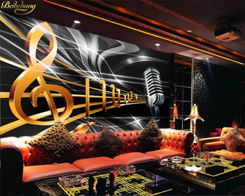 beibehang Custom photo wallpaper mural dynamic music symbol bar KTV box background wall papers home decor papel de parede custom 3d mural 3d stereo personality ktv bar background wall mural wallpaper graffiti music symbol mural for ktv bar