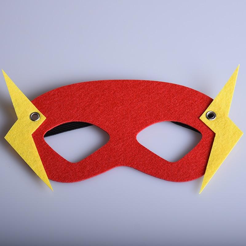 cosplay superhroe flash mscara de halloween kids nios mscaras de disfraces fiesta de cumpleaos del festival rojo precioso m