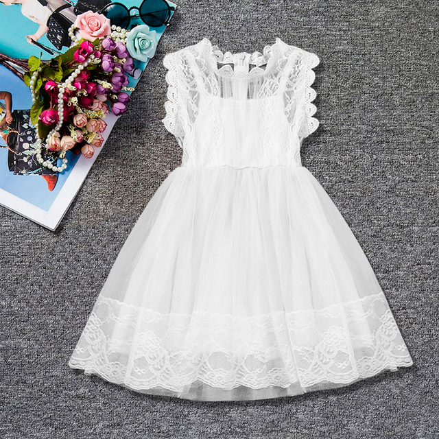 f0dd7290d Toddler Girl Summer Dresses Baby Kids Clothes For Girls Party Dress ...
