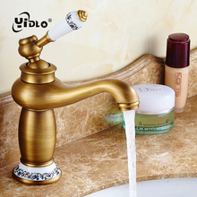Bathroom Antique Tap Basin Faucet Vintage Kitchen Sink Tap Decorative Ceramic Brass Tap Basin Mixer Water Bronze Faucet A15 single handle antique brass faucet porcelain basin faucet bronze antique sink tap basin mixer tap vintage style sink water mixer