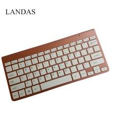Ultra Slim 2.4Ghz Wireless Keyboard For Laptop PC Desktop Scissors USB Keyboard Wireless For Mac Windows XP 8 7 10 Vista Android цены онлайн