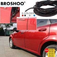 Протектор края автомобильной двери broshoo резиновые полосы
