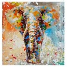 3D Diamond Painting Oil Painting Elephant Diamond Embroidery Sale  Diamond Mosaic Elephant Rhinestone Crafts Home Decor Gift недорого