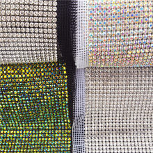 c9a3618b54 High Quality Crystal Mesh Fabric Rhinestone-Buy Cheap Crystal Mesh ...