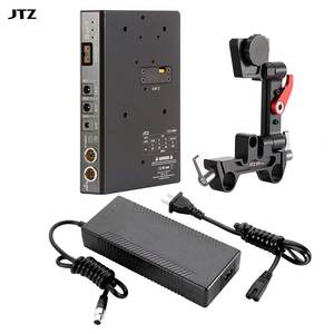 JTZ DP30 C5 CCUPS LE V-mount Battery Power Supply+DC Cable for GH3 GH4 GH5 DSLR