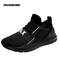2017 Summer And Autumn Running Shoes For Men Air Mesh Athletic Sneakers Breathable Cushioning Sport Shoes Men Free Shipping