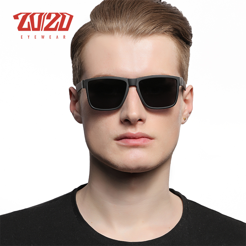 Classic Polarized Sunglasses Men Glasses Driving Coating Black Frame Fishing Driving Eyewear Black