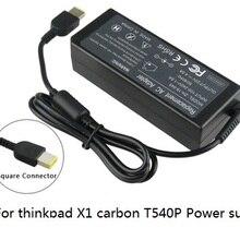 20 V 4.5A 90 W для lenovo Thinkpad X1 углерода, T540p заглушка для разъема питания ноутбука ac Адаптер зарядного устройства