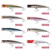 1 pcs Noeby popper lure floating wobbler top water sea fishing lure  155mm 52g carp fishing accessories