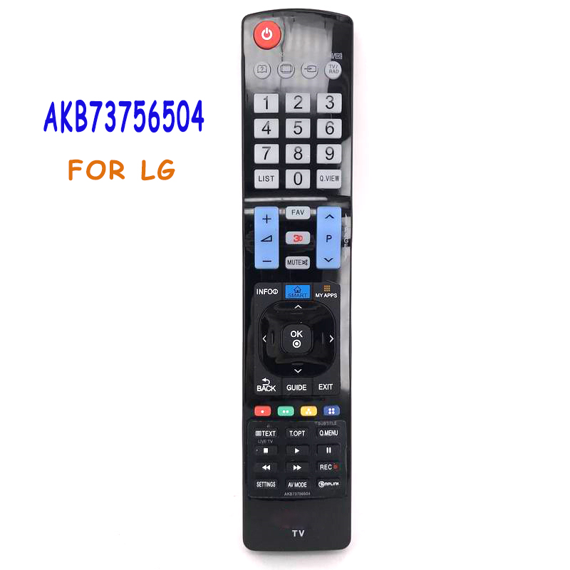 Universal Remote Control For LG LED LCD HDTV Smart TV AKB73756504 AKB73756510 AKB73615303 AKB73756502 32 42 47 50 55 84 Controle universal replacement remote control fit for vizio vp42 vp50 vm190vxt lcd led plasma hdtv tv