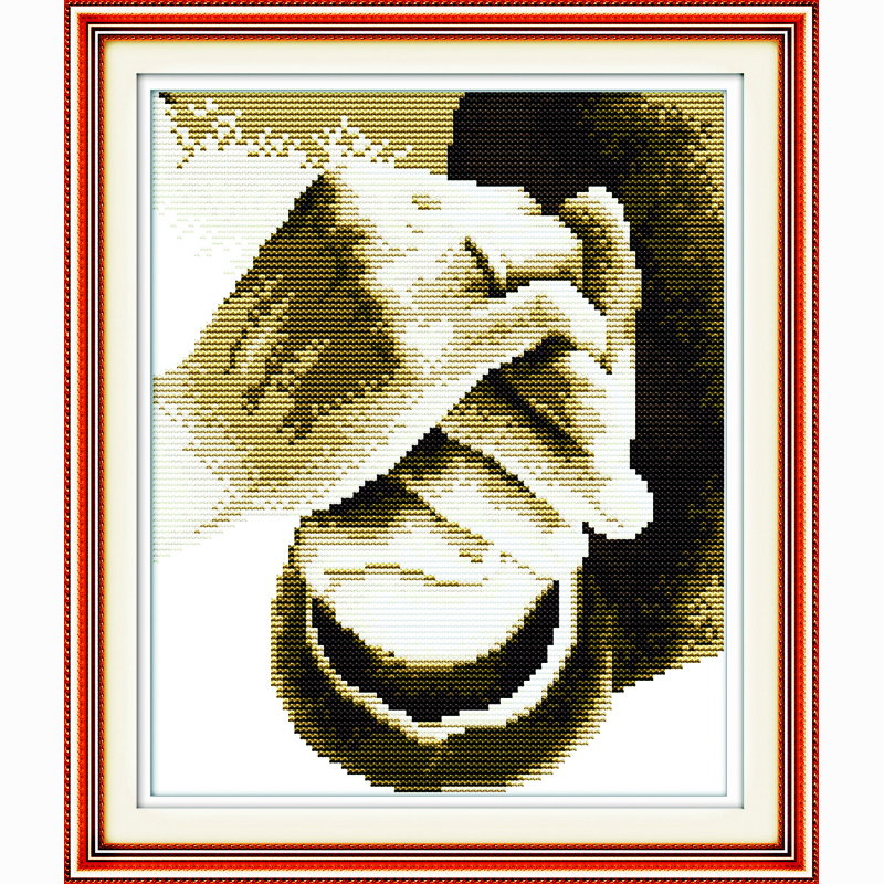 Hold your hand wedding decoration DIY Handmade Needlework Chinese 3D Counted Cross Stitch Embroidery Kits 14CT Cross-Stitching