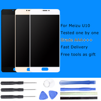Meilan U10 LCD Display Digitizer Touch Screen Replacement For Meizu U10 Cell Phone Parts 5 Tools