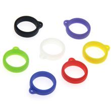 20mm Vape smycz silikonowy pierścień opaski gumowe do 20mm-35mm Vape długopis strąki zestaw Vapepods elektryczny papieros Mod baterii pierścienie tanie tanio Dekoracyjne Ochrony Band Okładki Torba E-XY