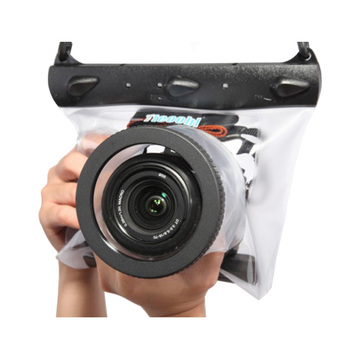 Tteoobl GQ-518M 20 м чехол для подводной камеры для дайвинга сумка для сухой камеры Водонепроницаемая сухая сумка для Canon Nikon DSLR SLR