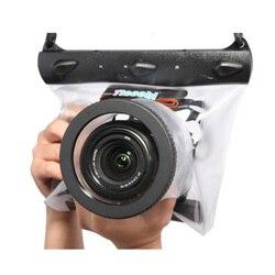 Tteoobl GQ-518M 20 м Корпус для подводной камеры для дайвинга сухая Сумка водонепроницаемая сухая сумка для камеры Canon Nikon DSLR SLR