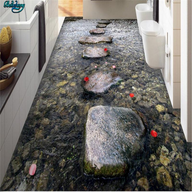 beibehang grandes rboles creek bao de piedra de encargo d azulejo de piso de la sala dormitorio cocina bao de pared pintura