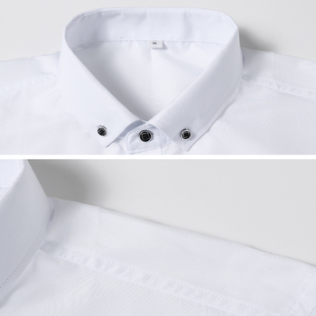 2019 New Fashion Casual Shirt Men Long Sleeve Slim Fit Men's Casual Button-Down Shirt Formal Dress Shirts Men Clothes Camisa 2