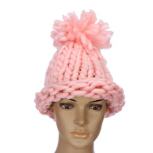 купить The New Winter 2015 Sell Like Hot Cakes Women Warm Shag Line Cap Fashion Joker Pure Color Woolen Yarn Wool Hats дешево