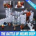 Nuevo 1368 Unids Lepin 16013 El Señor de los Anillos La batalla De Helm' Profundo Modelo Bloques de Construcción Ladrillos de Juguetes Educativos 9474