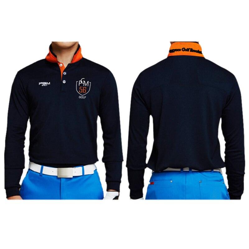 e0701d96 Outdoor Sport PGM Men T-shirt Quick Dry Glof Shirt Breathable Cotton Golf  Long-