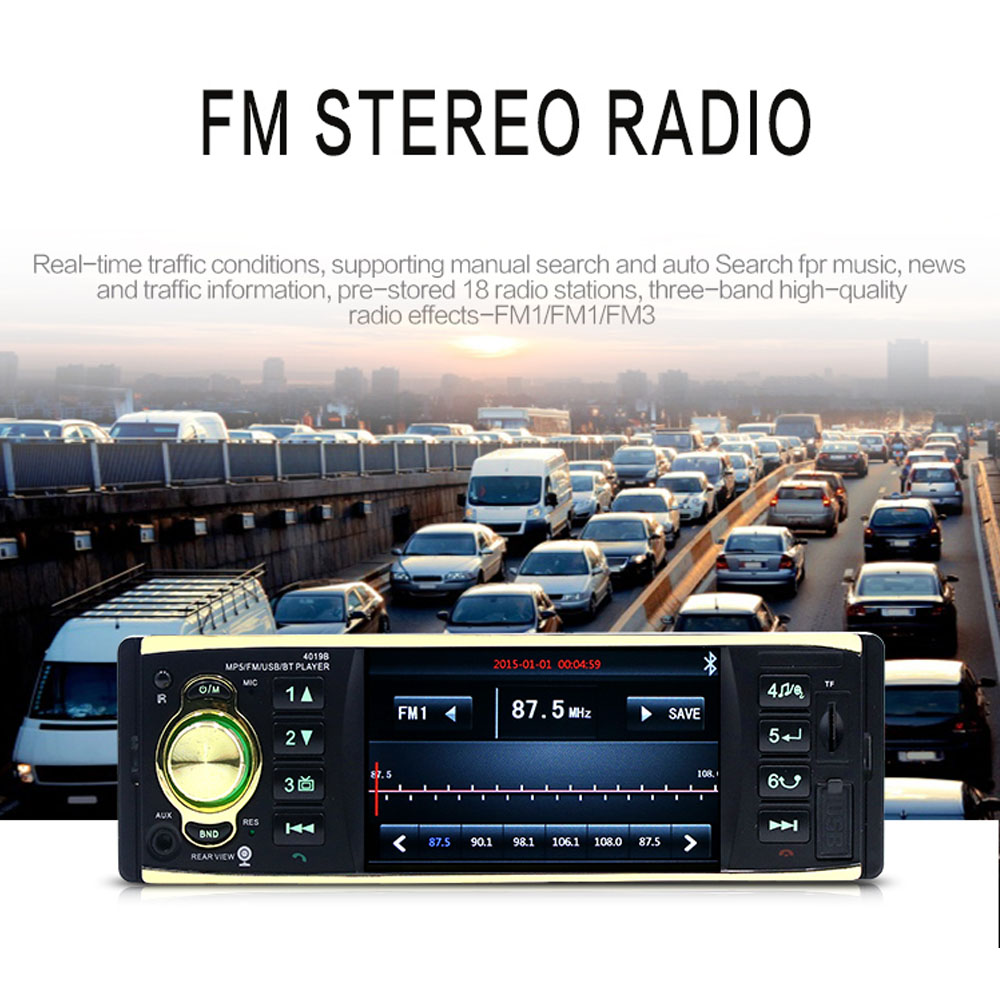 Blaupunkt SD Bluetooth 2din mp3 USB aux radio del coche para Jeep Grand Cherokee Dodge