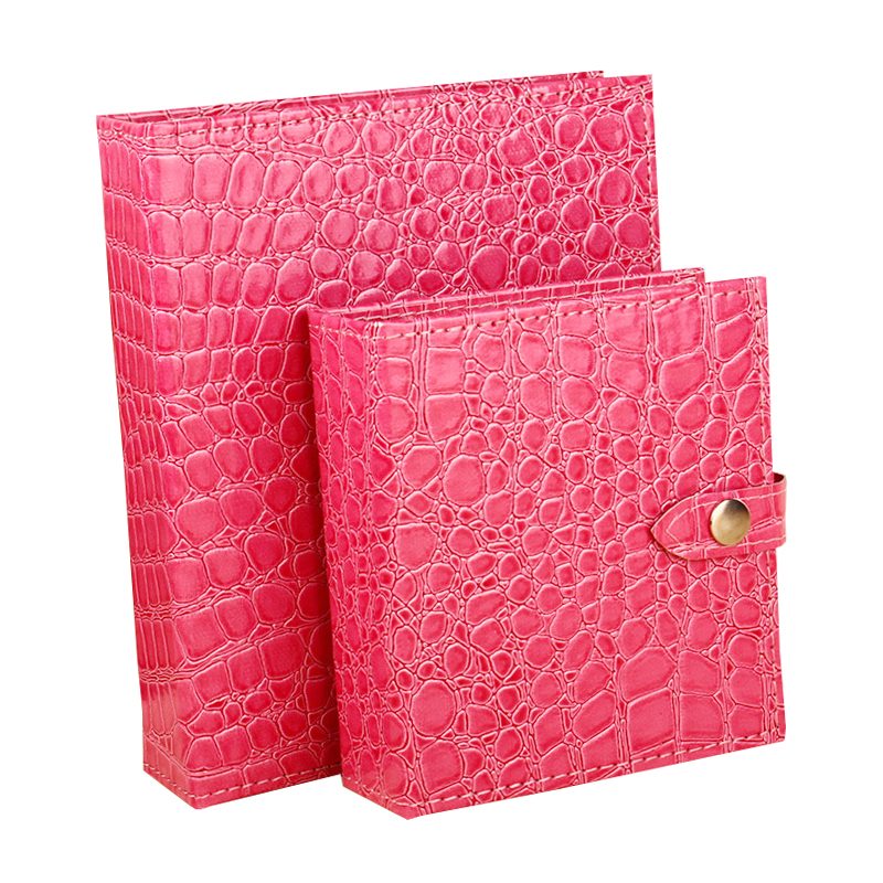 1Pcs Fashion Makeup Organizers Women PU Leather Jewelry Book Display Earring Ring Necklace Collection Case Bathroom Home Storage