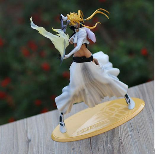 Japanse anime Bleach Sexy Girl Figurine Arrancar Tercera Espada Tear Halibel 9.2 PVC action figure toys free shipping newest graphtec cb09 silhouette cameo holder 15pcs blades vinyl cutter plotter 30 degree hot sale
