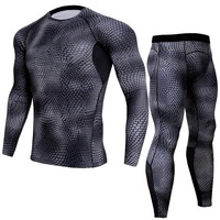 Outdoor cycling suits fitness clothing breathable quick drying clothes running long sleeve straitjacket