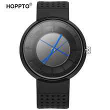 HOPPTO Model Girls Inventive Colourful Pointer Girls Wrist watch Breathe Freely Strap Males Sport Quartz Watch relogio masculino