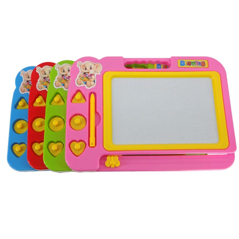 Children Kid Magnetic Writing Painting Drawing Graffiti Board Toy Preschool Tool . Q30 A ...