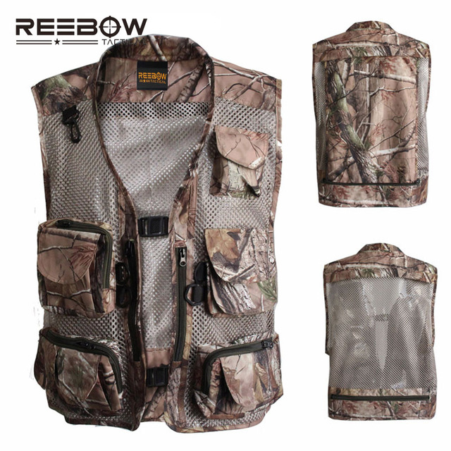 Deportes Reebow Al De Pesca Airsoft Libre Caza Bionic Aire Chaleco Chalecos Paintball Militar Leaf Senderismo Camuflaje Tactical En Tiro BBWFqr1n