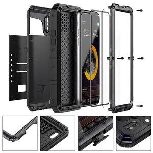 Image 2 - Doom Rüstung Wasserdicht Stoßfest Metall Fall + Silikon Schutzhülle Telefon Fällen Für iPhone X XR XS Max 8 7 6 6 S Plus Abdeckung