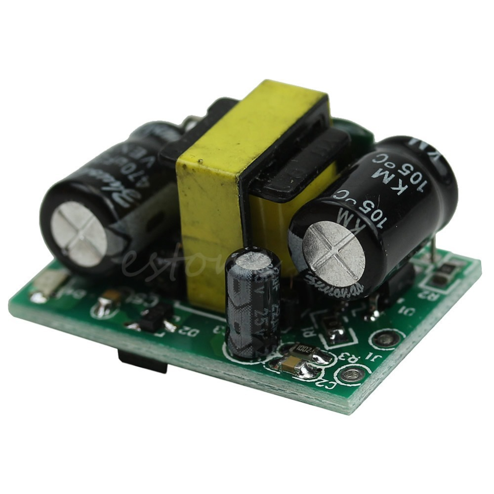 Ac Dc Buck Converter Step Down Led Isolation Power Supply Module 12v 1 Watt White Driver 400ma 3w Y103 In Inverters Converters From Home Improvement On