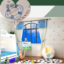 Mediterranean Style Wallpaper Non – Woven Wall Paper For Bedroom Living Room Children 's Room Wallcoverings Home Decoration