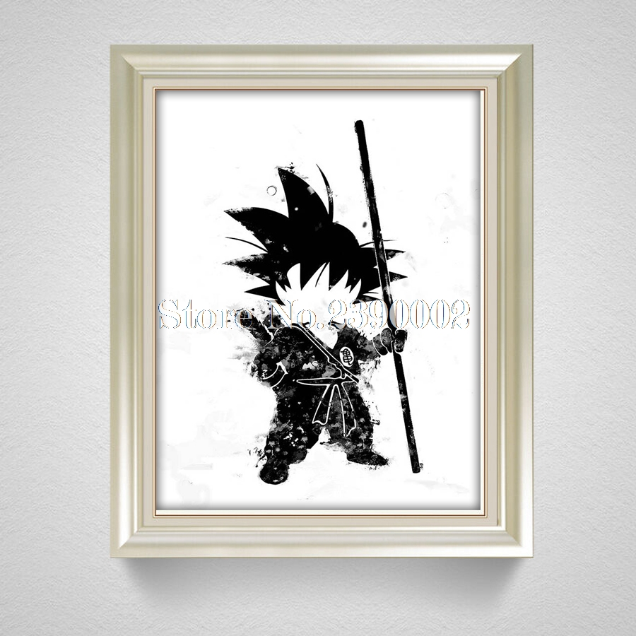 DRAGON BALL DIY Diamond Painting Cross Stitch Cartoon Son Goku Crystal Needlework Diamon ...