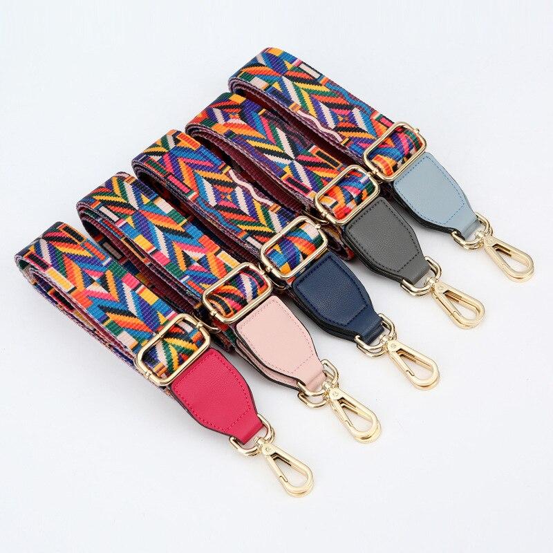 mylb New Arrive Fashion Women Bag Shoulder Strap colorful Style Shoulder Straps Elegant Lengthened Shoulder Straps