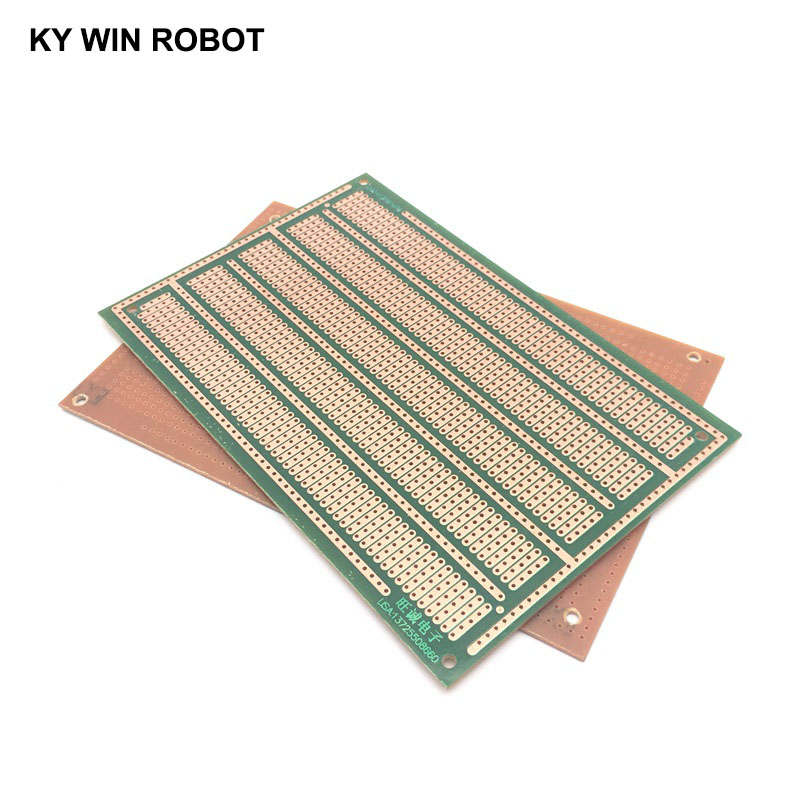 1 шт. DIY 10*15 см PF Односторонний Прототип бумага PCB Универсальный Эксперимент Матрица платы пять отверстий 10x15 см для Arduino
