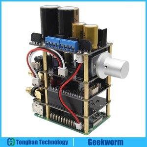 Image 4 - Raspberry Pi X20 Âm Thanh Hifi Bộ (X20 ES9028Q2M Đắc Ban/X10 I2S Ban/X10 PWR Nguồn Điện Cung Cấp Tàu/ x10 HPAMP Khuếch Đại (Kitb))
