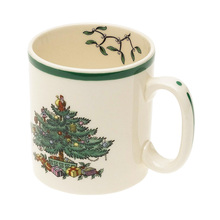 9 Oz England Style Christmas tree mug milk white Nordic luxury Christmas mug New Year's gift home coffee Mug Drinkware