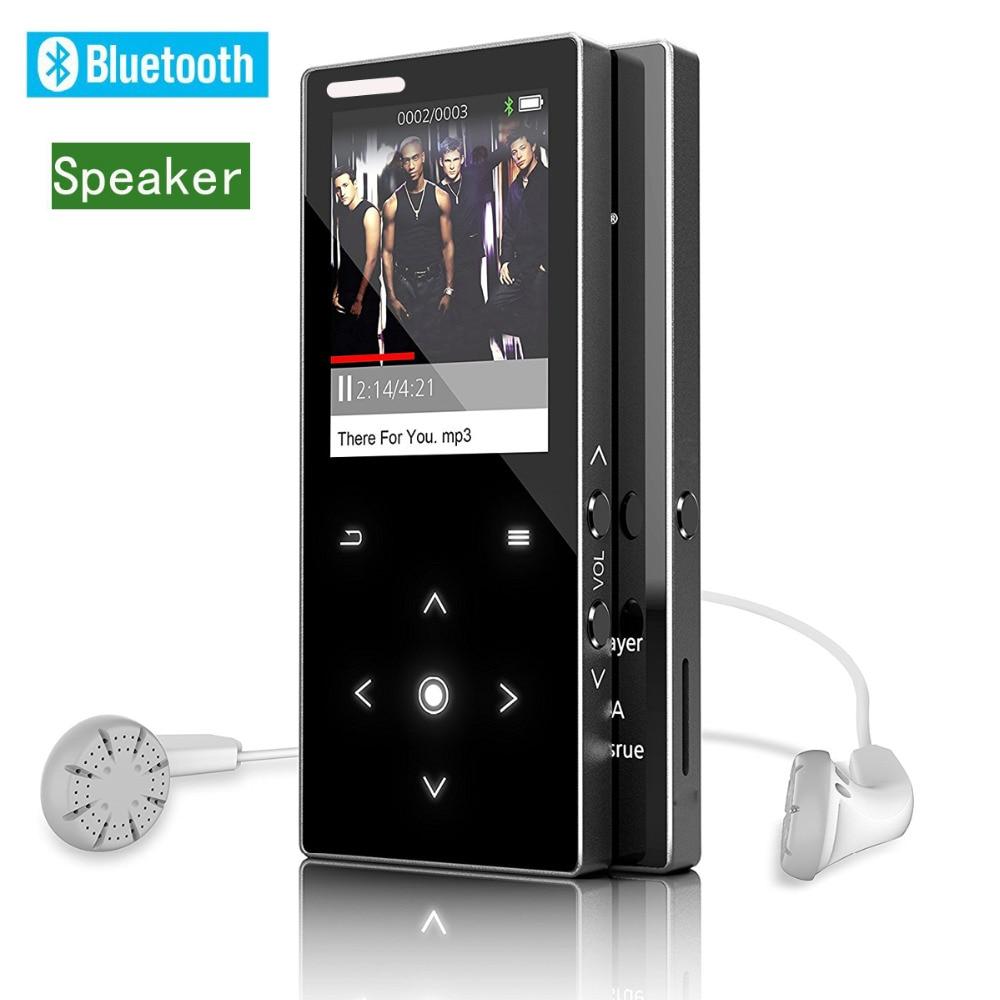 Mp3 Player Mit Lautsprecher Metall Körper 1.8in Bildschirm 8 Gb Hifi Verlustfreie Sound Qualität Musik-player Mit Fm Radio Recorder E-buch
