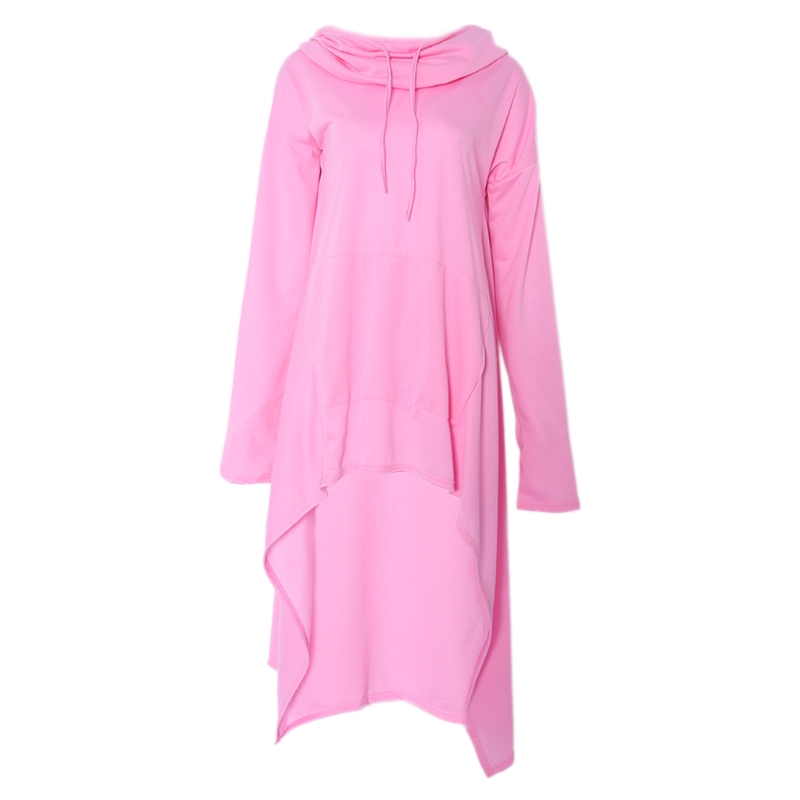 Promotion for Men/Women Drawstring Hooded Tops Stylish Long Hoodie Robe