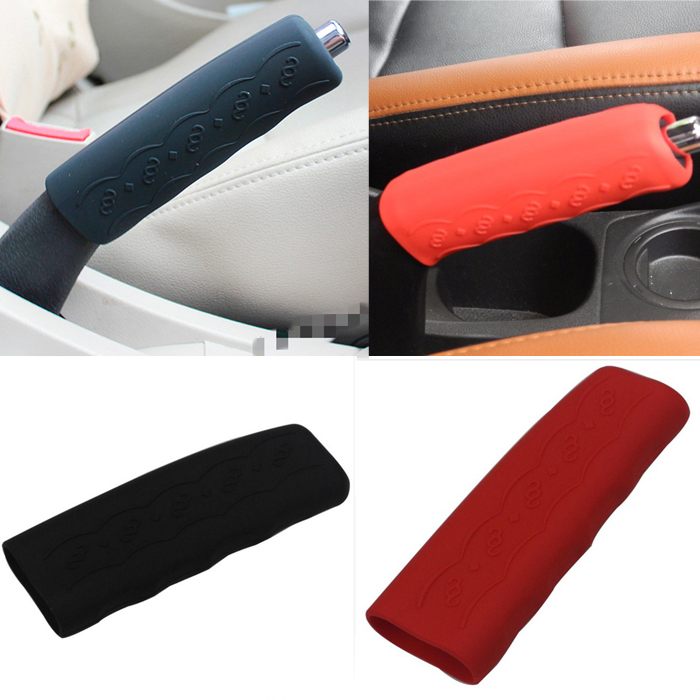 Car Handbrake Covers Sleeve Silicone Gel Universal Wh