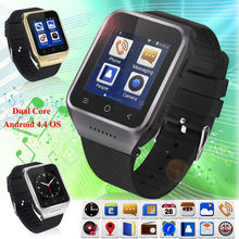 Free shipping!ZGPAX S8 1.54 Inch 3G Android4.4 GSM Dual Core Camera GPS Smart Watch Phone Mate