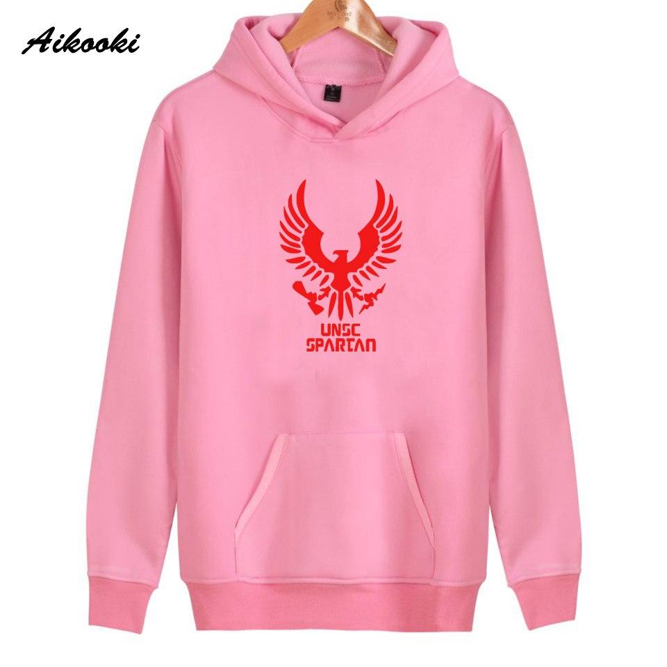Hoodies Women/Men Sweatshirts UNSC spartan Fashion Hoodie womens/mens Sweatshirt Aikooki high quality Cotton Tops Hoodie Men