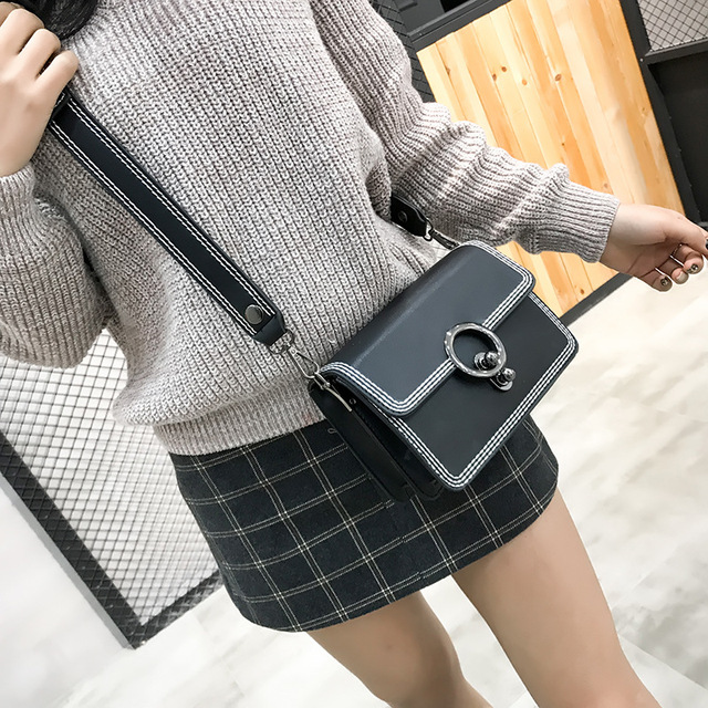 f9e1bb538ec1 new brand TINTON 2018 fashion ladies shoulder bag thread hasp lock bag mini  flap bags vintage crossbody bags for women gift