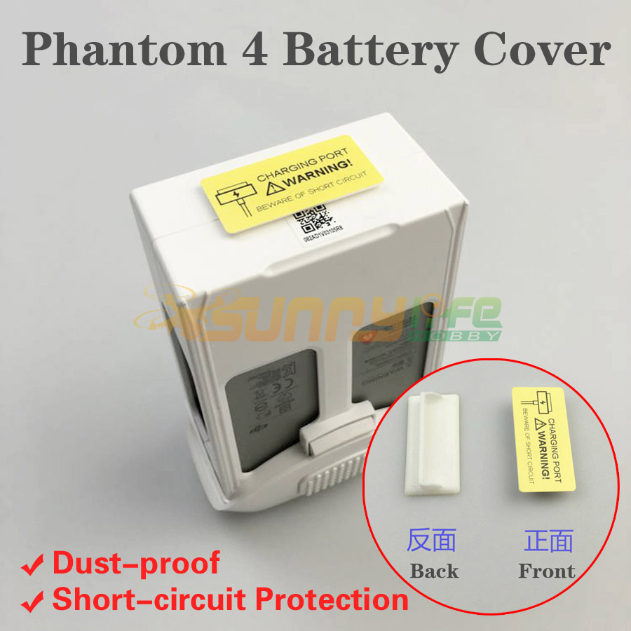 Phantom 4 Accessory Battery Charger Port Cover Cap Protector Dust-proof Cover Short-circuit Protection for DJI Phantom4