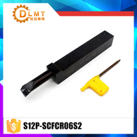 High Quality S12P SCFCR06S20 Internal Turning Tool Holder For CCMT060204 Insert Internal Boring Bar Lathe Machine
