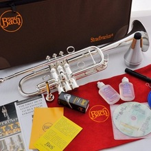 Лидер продаж 11,11 года! Серебристая Баха-труба с Каплевидным LT197GS-96 уровня профессионального исполнения, музыкальные инструменты