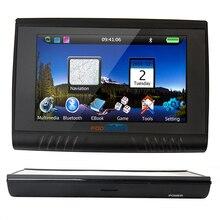 Обновление 256 М Ram + HD Экран! Fodsports Марка 5 »Водонепроницаемый IPX5 Bluetooth GPS Навигатор Навигация + 8 ГБ + FM + Карты